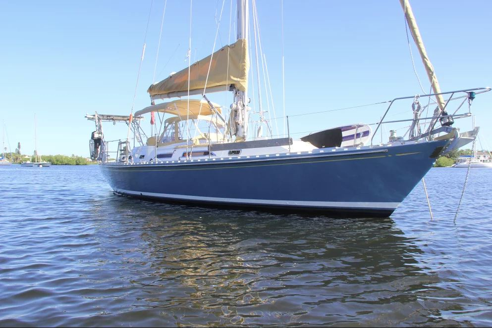 Hylas 45.5 'Best Day Ever' Sold by George Eberhard and Stephen Reverand