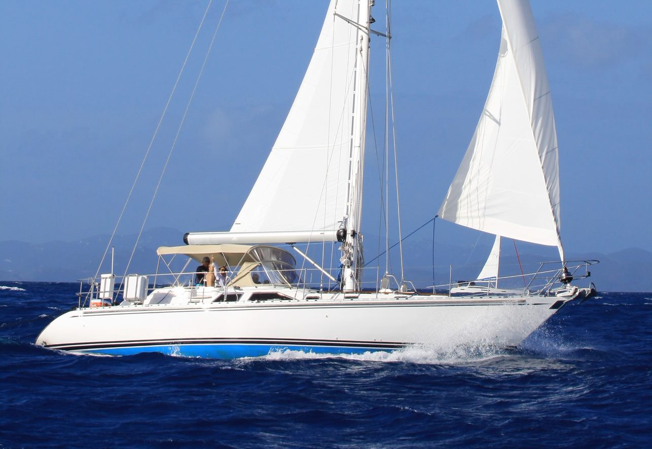 Hylas 49 Albertina Sold by David Walters Yachts
